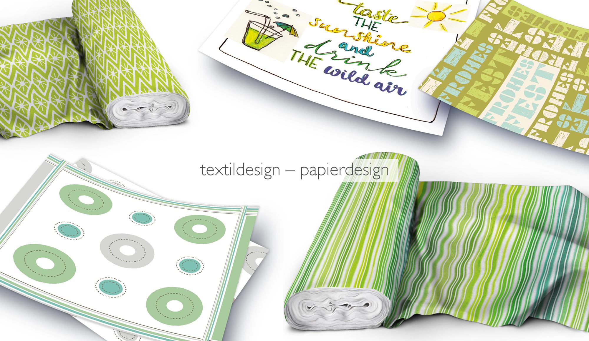Textildesign, Bettwäsche Gestaltung