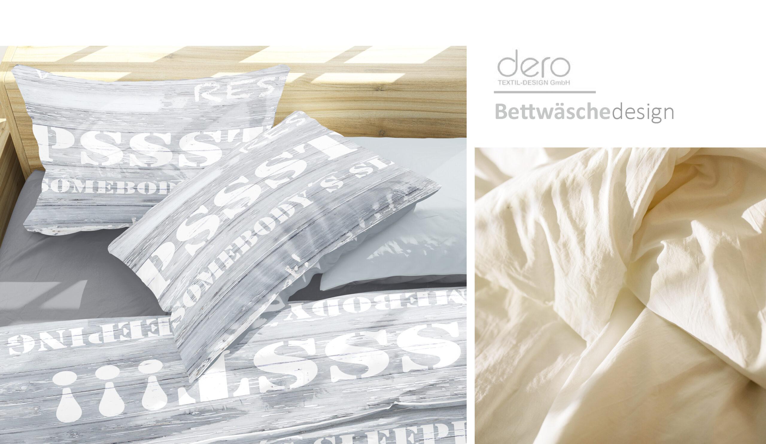 Designvorschlag Bettwäsche
